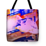 If I Was A Seagull, I Would Be Vibrating My Wings And Try To Fly  Tote Bag