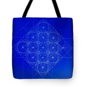 Vibrating Space Time Tote Bag