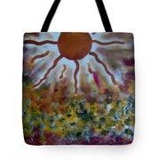 Vibrations II Tote Bag