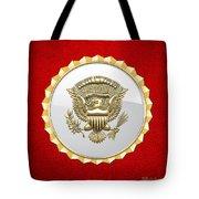 Vice Presidential Service Badge Tote Bag