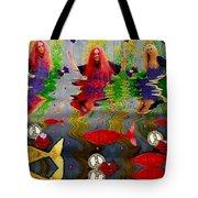 Vice Versa Pop Art Tote Bag