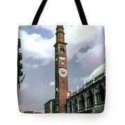 Vicenza Clock Tower Tote Bag