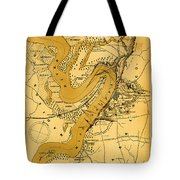 Vicksburg And Its Defenses Tote Bag