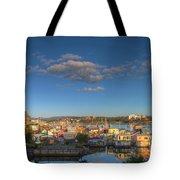 Victoria Bc Fisherman's Wharf Tote Bag