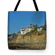Victoria Beach Tower Hdr Tote Bag