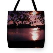 Victoria British Columbia Sunset Tote Bag