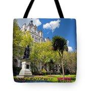 Victoria Embankment Gardens In London Uk Tote Bag