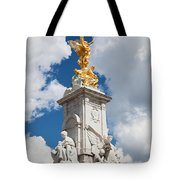 Victoria Memorial Next To Buckingham Palace London Uk Tote Bag
