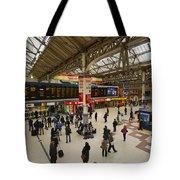Victoria Railway Station London  Tote Bag