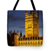 Victoria Tower - London Tote Bag
