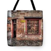 Victorian Corner Shop Tote Bag