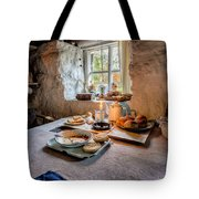 Victorian Cottage Breakfast Tote Bag