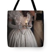 Victorian Couple By Candlelight Tote Bag