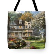 Victorian Home Tote Bag