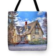Victorian Homestead Tote Bag