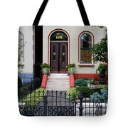 Victorian House Lafayette Sq St Louis Tote Bag