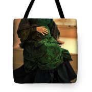Victorian Lady Expecting A Baby Tote Bag by Jill Battaglia
