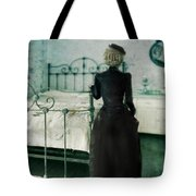 Victorian Lady In A Bedroom Tote Bag