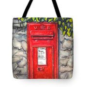 Victorian Mailbox Tote Bag