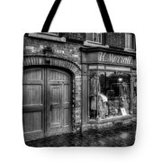 Victorian Menswear Tote Bag by Adrian Evans