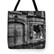 Victorian Menswear Tote Bag