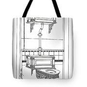 Victorian Potty Tote Bag