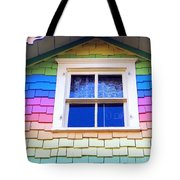 Victorian Rainbow Tote Bag