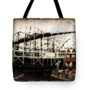 Victorian Roller Coaster Tote Bag