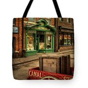 Victorian Town Tote Bag
