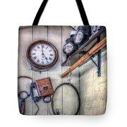 Victorian Train Memorabilia Tote Bag