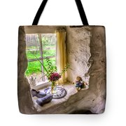 Victorian Window Tote Bag by Adrian Evans