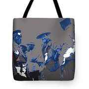 Victoriano Huerta Emilio Madero And Pancho Villa On The Right Ciudad Chihuahua May 1912-2014 Tote Bag