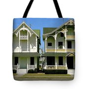 Victorians At Ocean Grove New Jersey Tote Bag