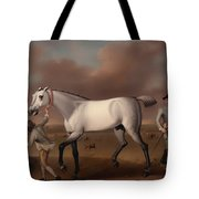 Victorious At Newmarket Tote Bag