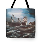 Victory At Gibraltar Tote Bag