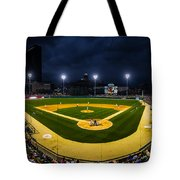 Victory Field Tote Bag by Ron Pate