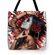 Vidas Angel Tote Bag by Pete Tapang