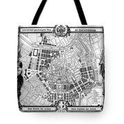 Vienna: Plan, 1860 Tote Bag