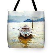 Vietnam Boat Tote Bag