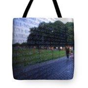 Vietnam War Memorial Tote Bag