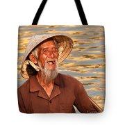 Vietnamese Boatman 02 Tote Bag