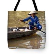 Vietnamese Boatwoman 01 Tote Bag