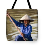 Vietnamese Boatwoman 02 Tote Bag