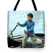 Vietnamese Boy Tote Bag