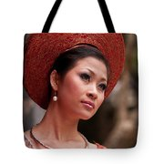 Vietnamese Bride 09 Tote Bag