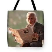 Vietnamese Man Tote Bag by Rick Piper Photography