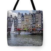 Vieux Bassin Of Honfleur Tote Bag