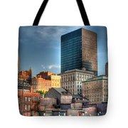 vieux Montreal Tote Bag by Elisabeth Van Eyken