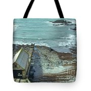 View Across Polpeor Cove Tote Bag