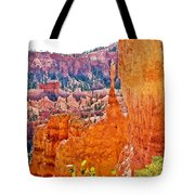View At Beginning Of Navajo Trail In Bryce Canyon National Park-utah Tote Bag